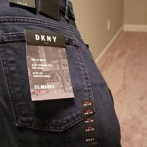 Dkny St Marks Slim denim pants